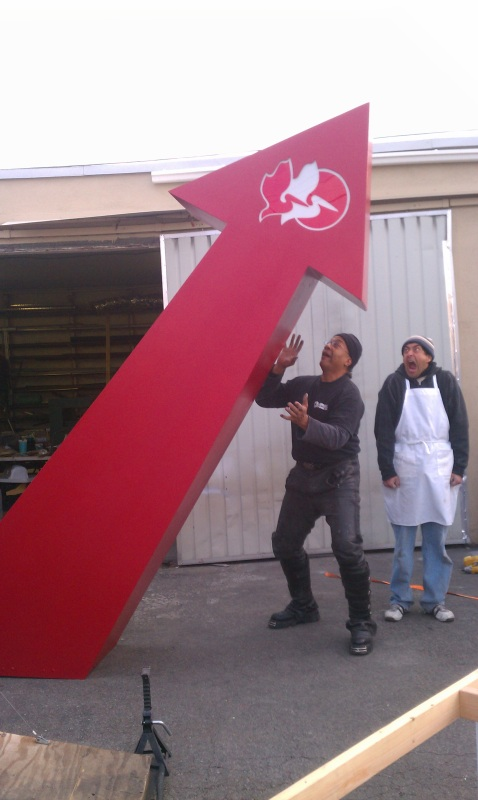 oversize props made by trade show props