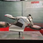 Lincoln Electric hoverbike props for trade shows