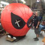 custom spiderman prop